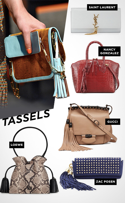 Spring 2014 Must-Have Handbags: Tassels