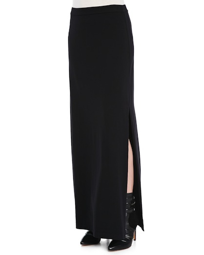 Side slit skirt trend splendid