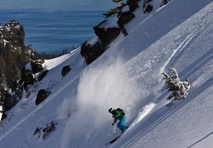 Ski Resort Alpine Meadows California