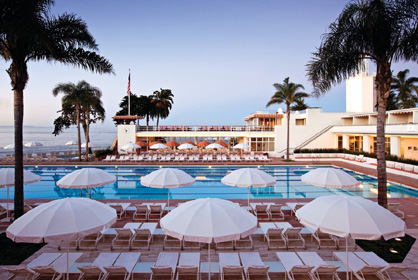 Favorite Beachfront Resorts Four Seasons Biltmore Santa Barbara