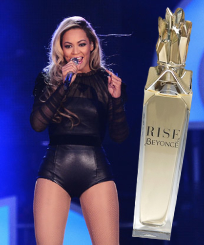 Beyonce Rise Perfume Release