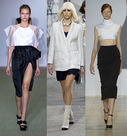 Spring 2014 Colorblocking Runway Trend