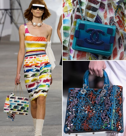 Colorful Spring 2014 Handbag Trend