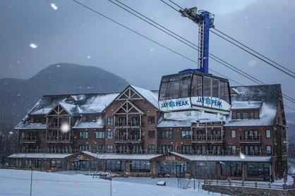 Ski Resort Jay Peak Vermont