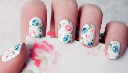 Lux beauty spring nail art ladylux online luxury lifestyle photo courtesy of nailarttech prinsesfo Image collections