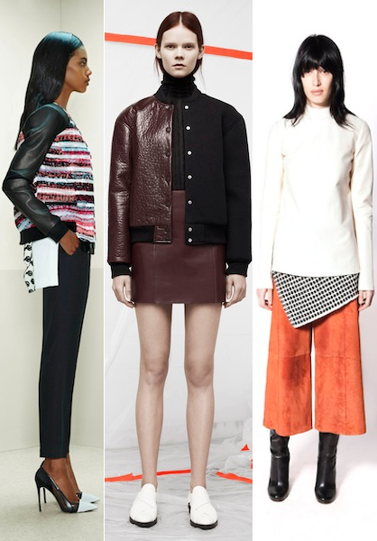 Pre Fall 2014 Leather Trends Fabric Blocking
