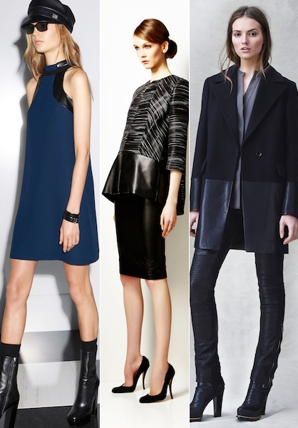 Pre Fall 2014 Leather Trends Trim