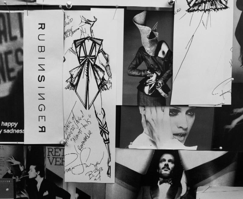 Rubin Singer Fashion Illustrations