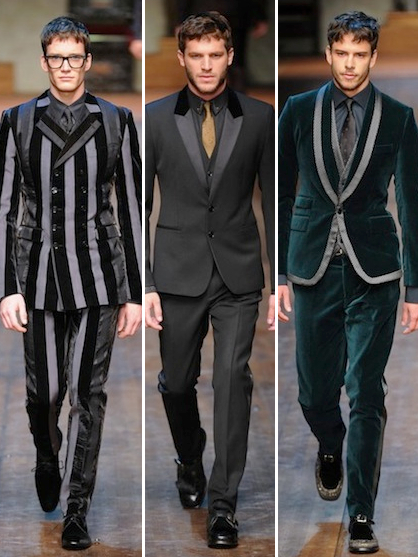 Menswear Fall 2014 Milan Fashion Week Dolce and Gabbana