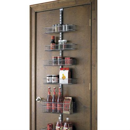 Over The Door Kitchen Pantry Organizer Design Ideas