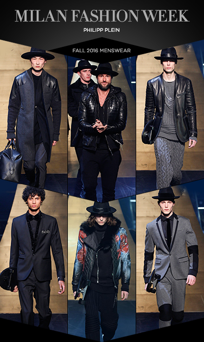 Philipp Plein MFW Fall 2016 Menswear Collection