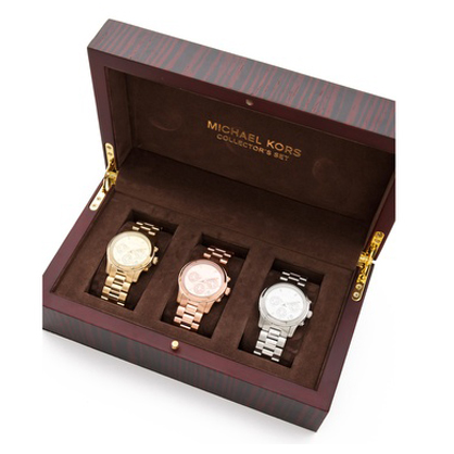 Give the gift of time with the Michael Kors runway chronograph watch collector box set. The set includes gold silver and rose gold watches adorned with ...  sc 1 st  LadyLUX & LUX Holiday Shop: Shopbop presents The Holiday Gift Boutique + 10 ... Aboutintivar.Com