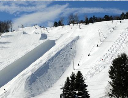 Ski Resort Big Sky Montana
