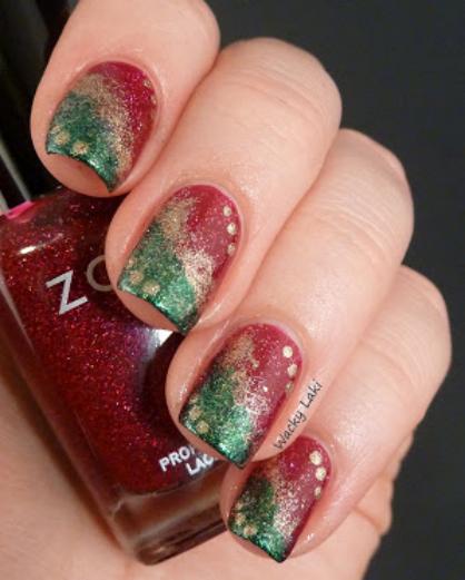 5 Holiday Nail Art Ideas Ladylux Online Luxury Lifestyle