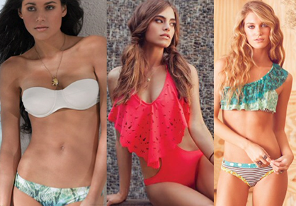 swimsuits for your body type: athletic