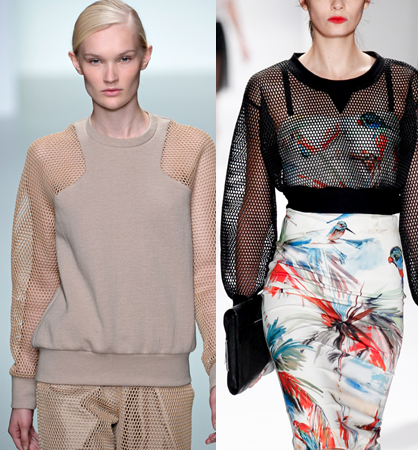 S/S 14 Trends: Athletic Mesh