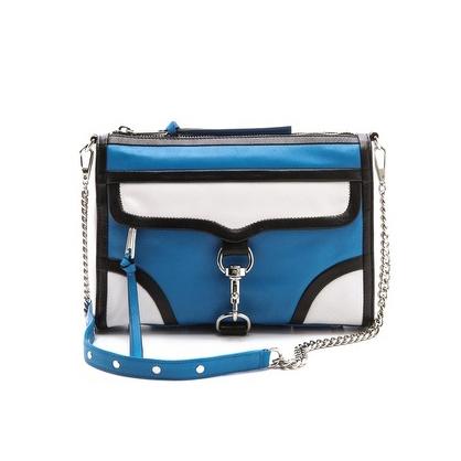 Blue Mac Bag