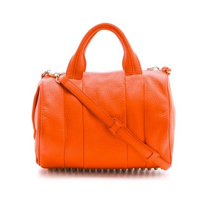 Orange Rocco Duffle Bag