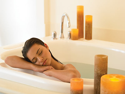 Ease a Hangover with a Detox Bath