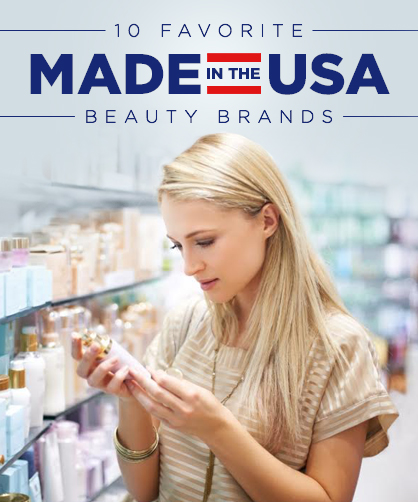 Best Made In The USA Beauty Brands | LadyLUX - Online Luxury