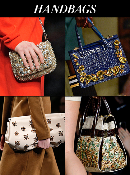 Spring 2014 Handbag Trend Bejeweled Accessories