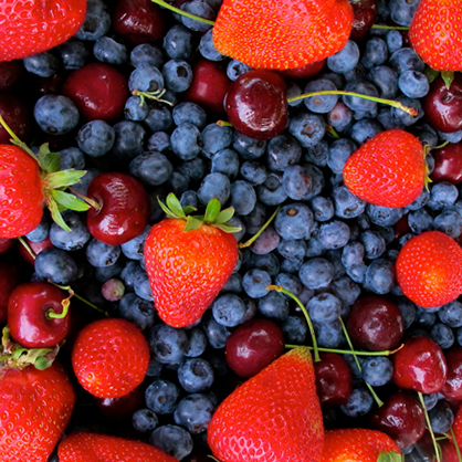 Mixed Berries Protect Skin from Sun