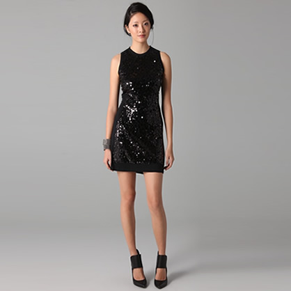 Fun Sequined Shift Dress