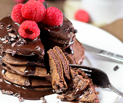 Dessert Recipe: Chocolate Pancakes