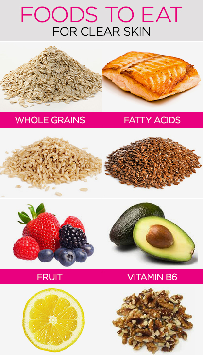 Foods to Eat For Clear Skin