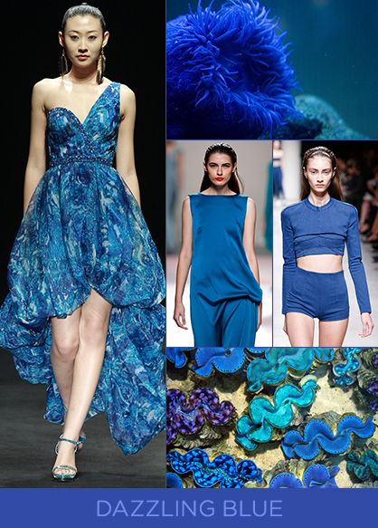 Spring 2014 Color Trends Dazzling Blue