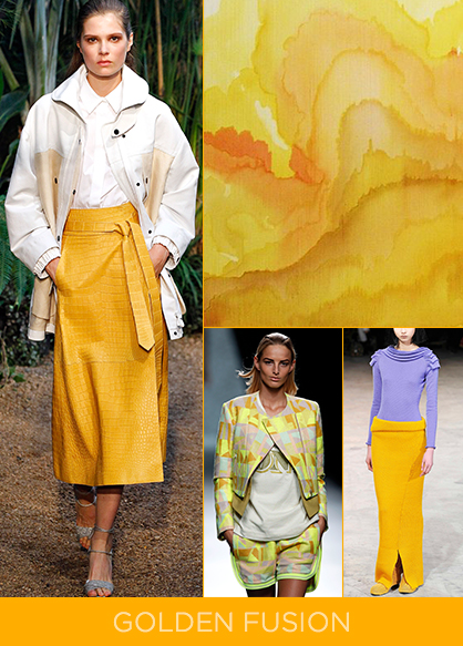 Spring 2014 Color Trend Gold