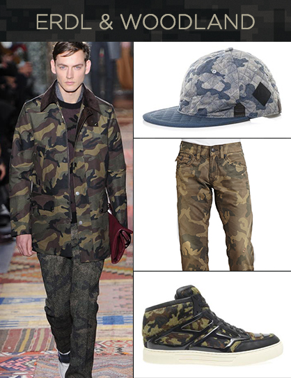 Pre-Fall 2014 Trend: Contemporary Camo For Men