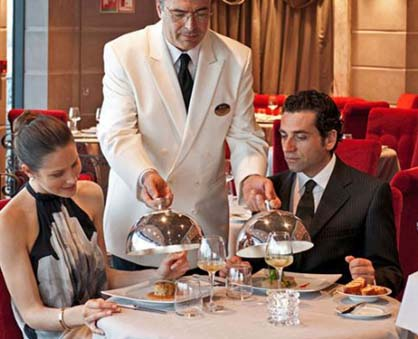 Top Cruise Trends 2013 Fine Dining
