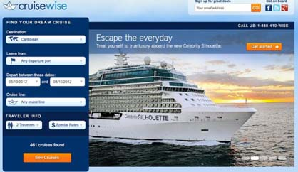 Top Cruise Trends 2013 Online Booking