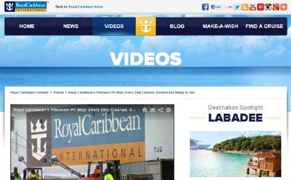 Top Cruise Trends 2013 Video Tours