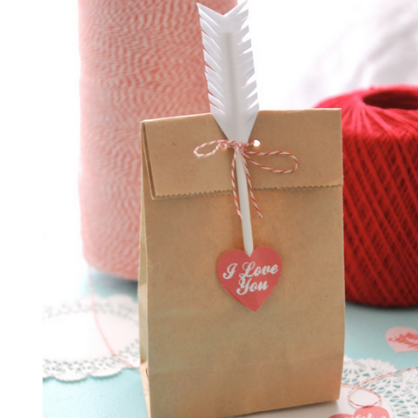 Valentine's Day DIY Cupid's Arrow