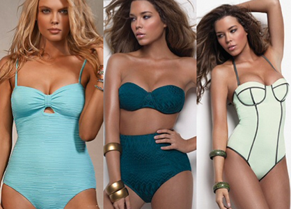 swimsuits for your body type: curvy