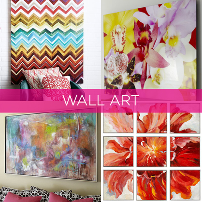 Floral and Abstract Wall Art