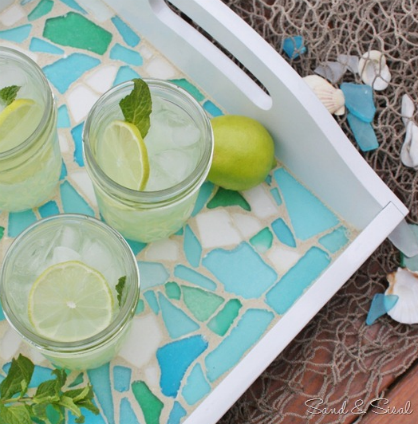 Spring DIY: Mosaic Serving Tray