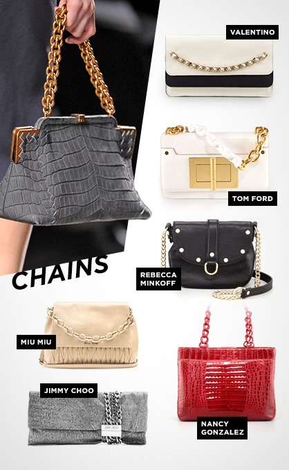 Fall 2013 Handbag Trends: Chains