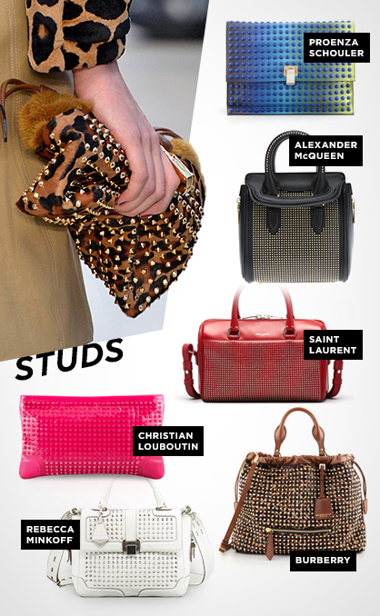 Fall 2013 Handbag Trends: Studs