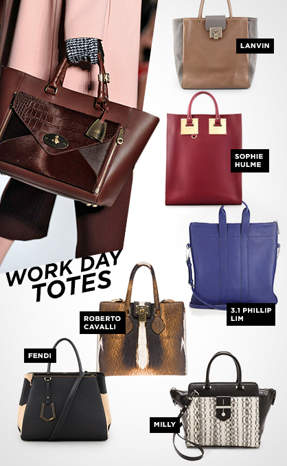 Fall 2013 Handbag Trends: Totes