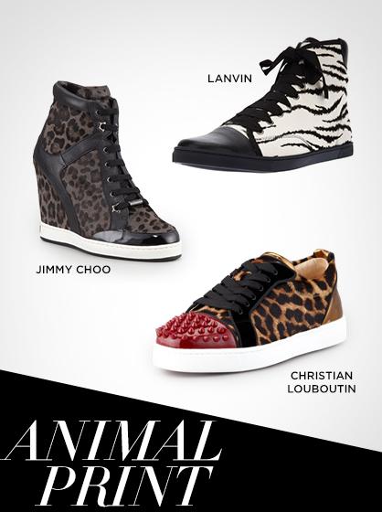 Fall 2013 Animal Print Sneakers