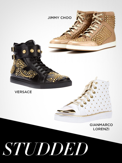 Fall 2013 Studded Sneakers