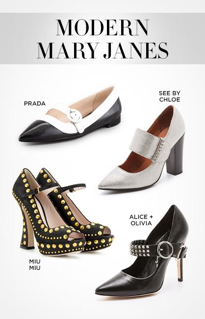 Fall 2013 Footwear: Mary Janes