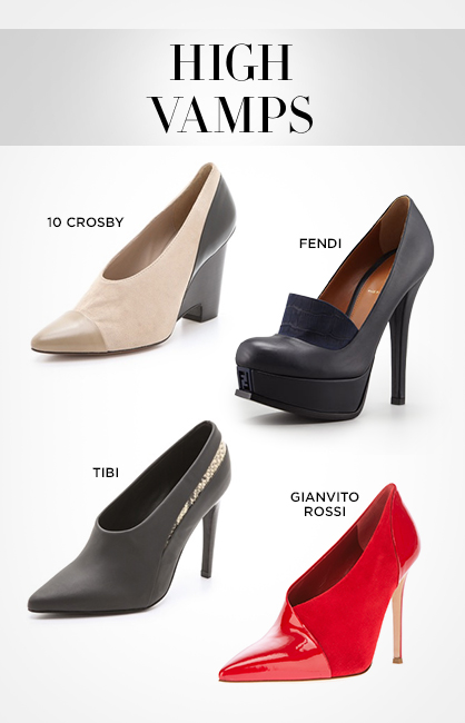 Fall 2013 Footwear: High Vamp