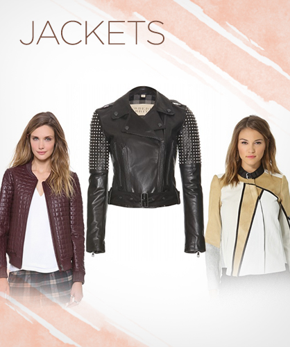 Fall 2013 Leather Jackets