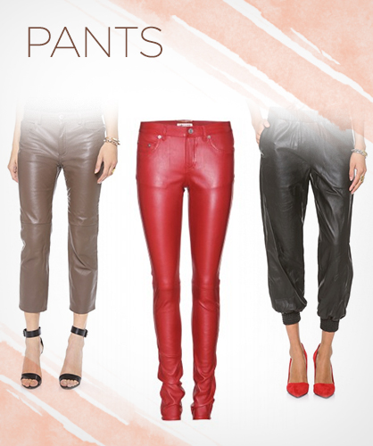 Fall 2013 Leather Pants