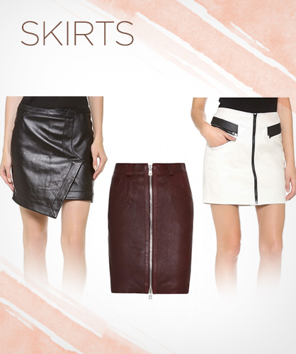 Fall 2013 Leather Skirts