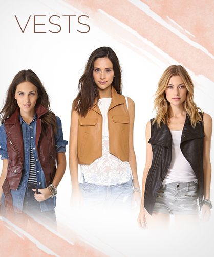 Fall 2013 Leather Vests